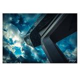 """Online Outlet """"Bateau sur la Maison"""" (alu di-bond 80 x 60 cm)_"""